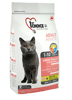 1st Choice  Cat Adult - Indoor Vitality