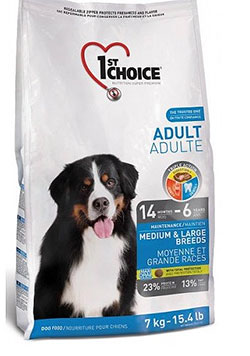 1st Choice Adult Dogs Medium & Large Breeds  (Chicken Formula)