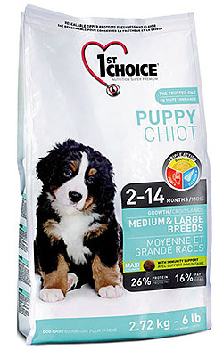 1st Choice Puppy Medium & Large Breeds
