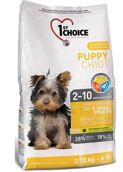1st Choice Puppy Toy & Small Breeds