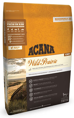 Acana Regionals Wild Prairie for CAT  <font color=red> New!</font>