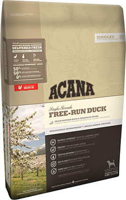 Acana Singles Free-Run Duck <font color=red> New!</font>