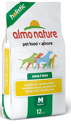 Almo Nature Holistic Adult Dog  Medium – Chicken&Rice (M)