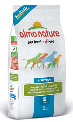 Almo Nature Holistic Adult Dog  Small – Lamb&Rice (S)