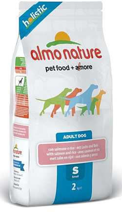 Almo Nature Holistic Adult Dog  Small – Salmon&Rice (S)