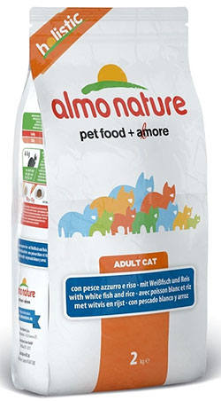 Almo Nature Holistic CAT White Fish&Rice