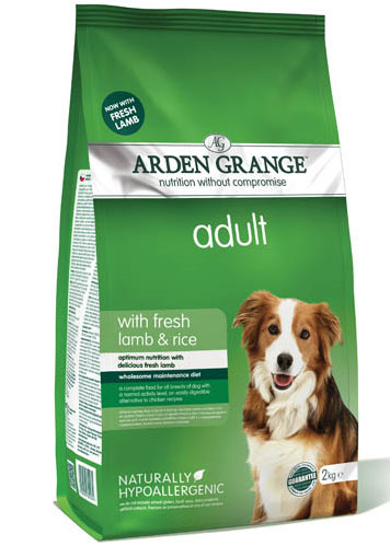 Arden Grange Adult Dog - with Fresh Lamb & Rice