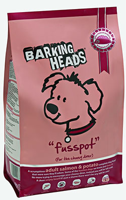 Barking Heads - Fusspot (Salmon & Potato Adult)