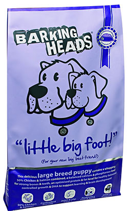 Barking Heads - Little Big Foot (Large Breed Puppy)