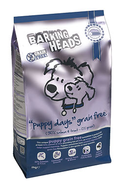 Barking Heads - Grain-Free Puppy Days (Salmon & Trout)
