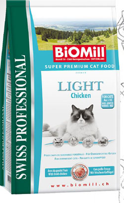 BiOMill   Swiss Professional Cat Light (Chicken)