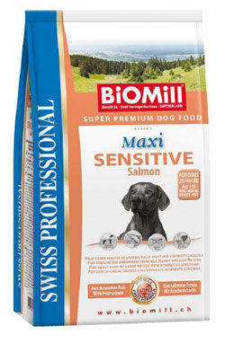 BiOMill Swiss Professional Maxi Sensitive Salmon