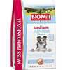 BiOMill Swiss Professional Medium JUNIOR (Chicken)
