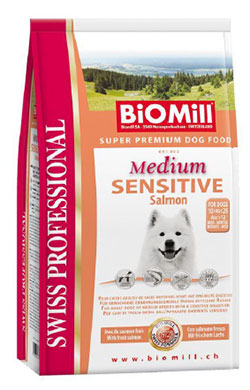 BiOMill Swiss Professional Medium Sensitive Salmon