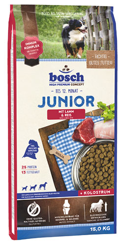 Bosch Junior Lamb & Rice (lamm & reis)