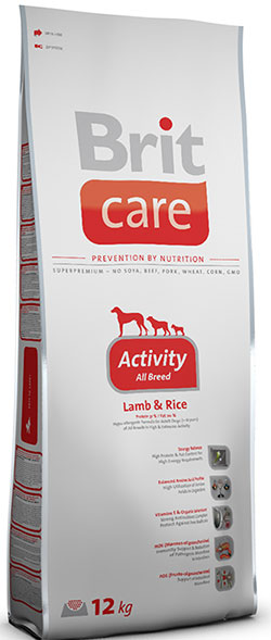 Brit Care Activity All Breed (Lamb & Rice)