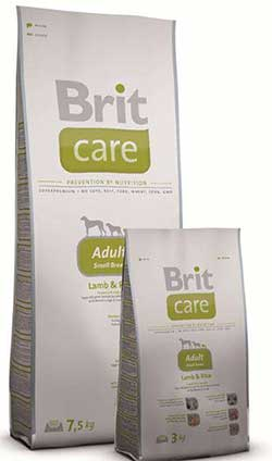 Brit Care Adult Small Breed (Lamb & Rice)