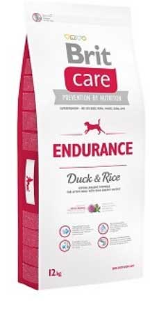 Brit Care Endurance - DUCK & RICE Formula for Active Dogs