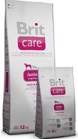 Brit Care Junior Large Breed (Lamb & Rice)