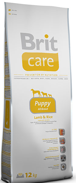 Brit Care Puppy All Breed (Lamb&Rice)