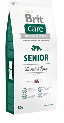 Brit Care Dog Senior (Lamb & Rice)