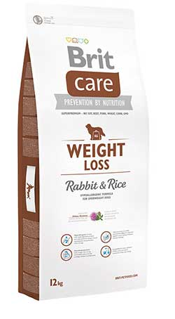 Brit Care Dog Weight Loss (Rabbit & Rice)