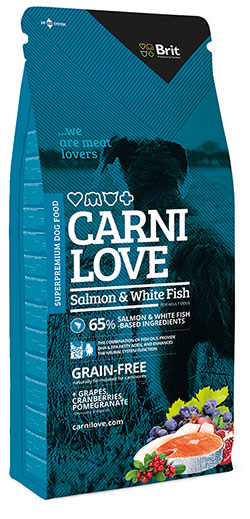 Brit CarniLove Salmon & White Fish. Grain-free