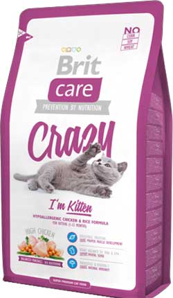 Brit Care Cat - Crazy - I\'m Kitten