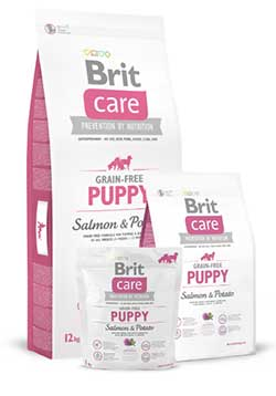 Brit Care Puppy Salmon & Potato - Grain-Free