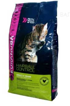 Eukanuba Cat Adult Hairball Control