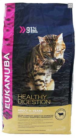 Eukanuba Cat Adult rich in Lamb with Liver