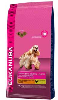 Eukanuba Dog Adult Medium Breed Weight Control