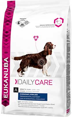 Eukanuba Dog Adult Daily Care  Overweight and Sterilised