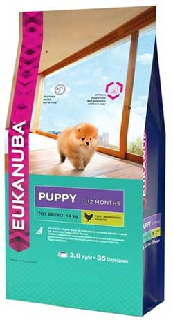 Eukanuba Puppy Toy Breed