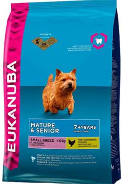 Eukanuba Dog Mature & Senior – Small Breed