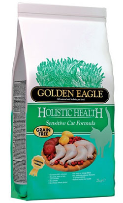 Golden Eagle Holistic Sensitive Cat Formula 43/19 – Grain Free!