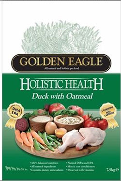 Golden Eagle Holistic Duck with Oatmeal Formula 22/13
