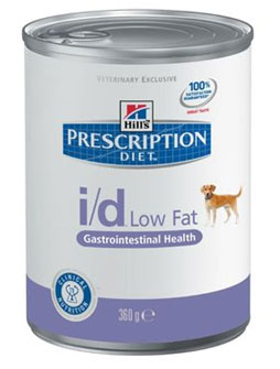 Hill\'s Prescription Diet™ i/d™ Canine Gastrointestinal Health Low Fat (консервы) - набор 5 банок х 360 г