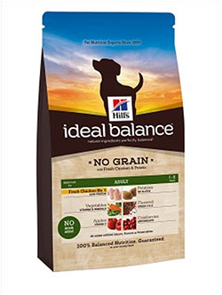 Hill`s   Ideal Balance™ Canine Adult NO GRAIN with Fresh Chicken and Potato