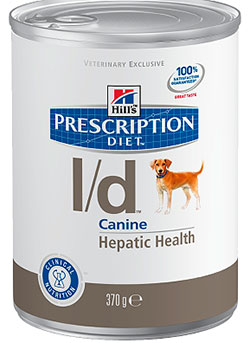 Hill\'s Prescription Diet™ l/d™ Canine Hepatic Health (консервы) - набор 5 банок х 370 г