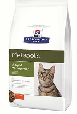 Hill\'s Prescription Diet™ Metabolic Feline -  Weight Management - коррекция веса кошки
