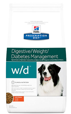 Hill`s  Prescription Diet™ w/d™ Digestive/Weight/Diabetes Management Canine with Chicken