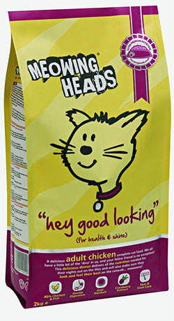 Meowing Heads - Hey Good Looking (Chicken Adult Cat)