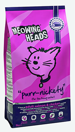 Meowing Heads - Purr-Nickety  (Salmon Adult Cat)
