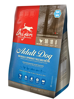 Orijen FD Adult Dog  90/10  (Freeze Dried)