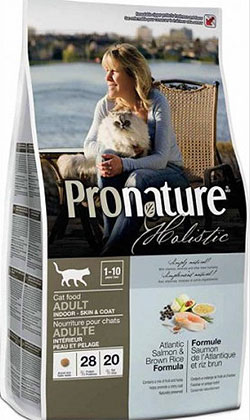 Pronature Holistic  Cat Adult  -  Atlantic Salmon & Brown Rice