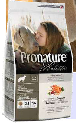 Pronature Holistic adult dog. Turkey & Cranberries